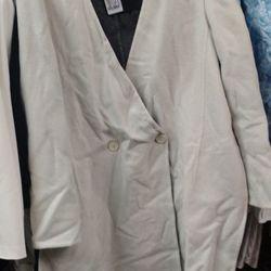 Calvin Klein coat, roughly $1,000