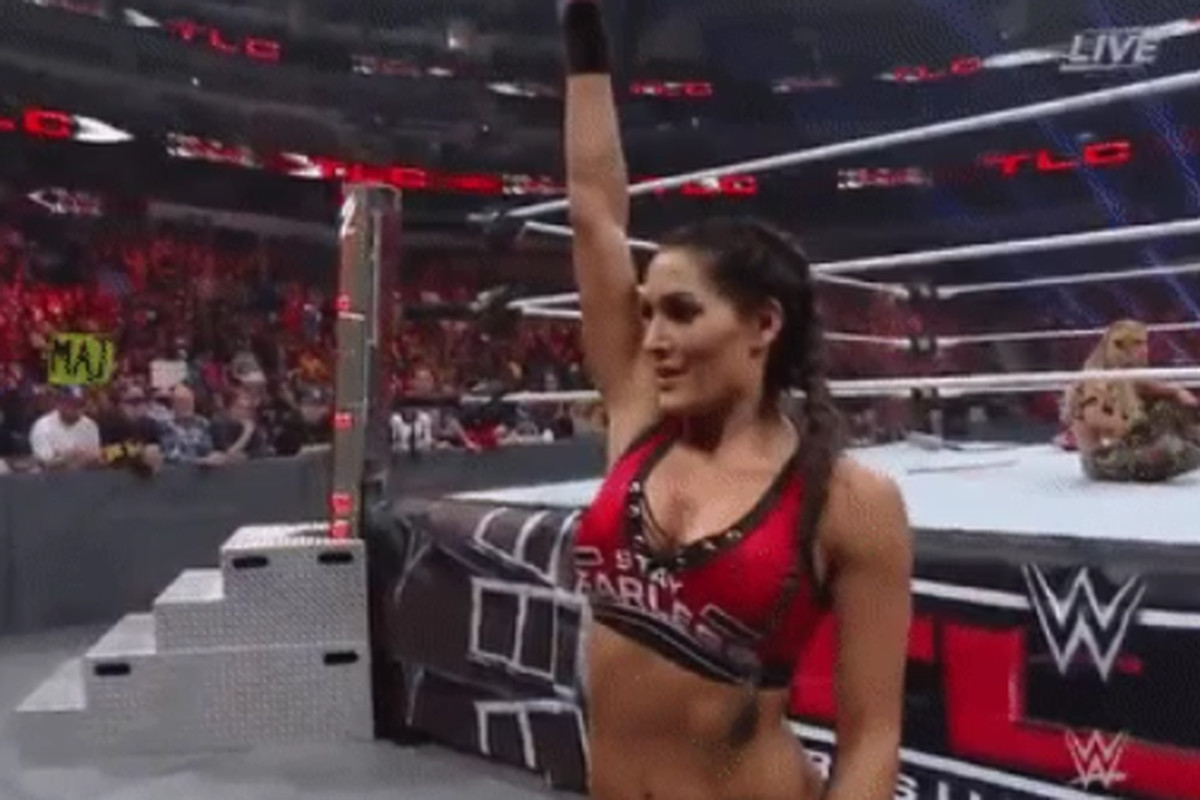 wwe nikki bella ass