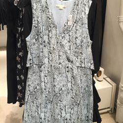 Cooper and Ella dress, size large, $63.60 (was $225)