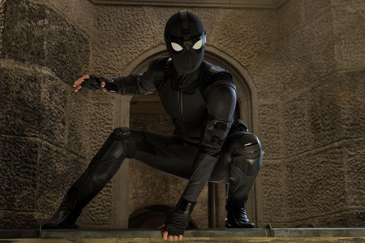 Image result for spider man stealth suit