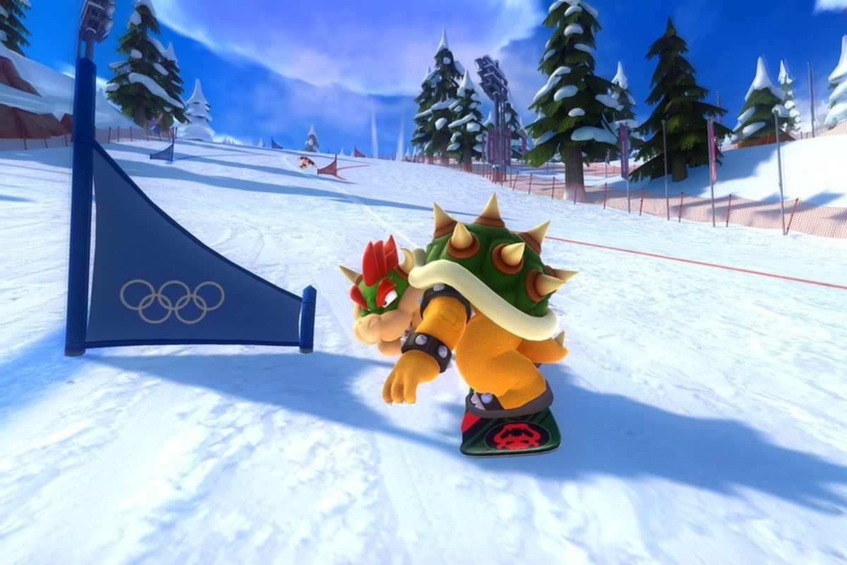 mario sonic at the sochi 2014 olympic winter games could. Black Bedroom Furniture Sets. Home Design Ideas
