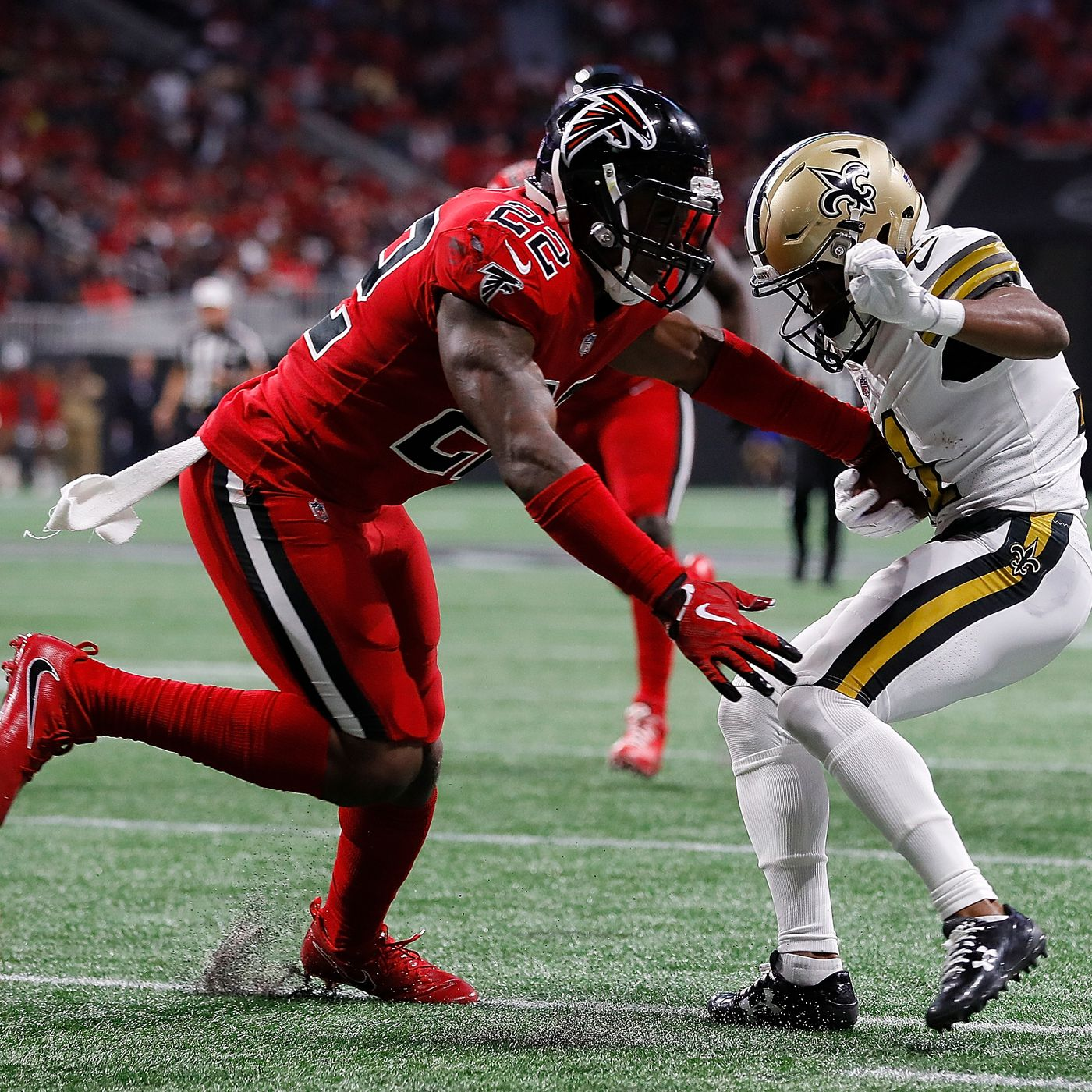 Saints vs. Falcons 2017 live results  Score updates and highlights from  Thursday  Night Football  67e69af45