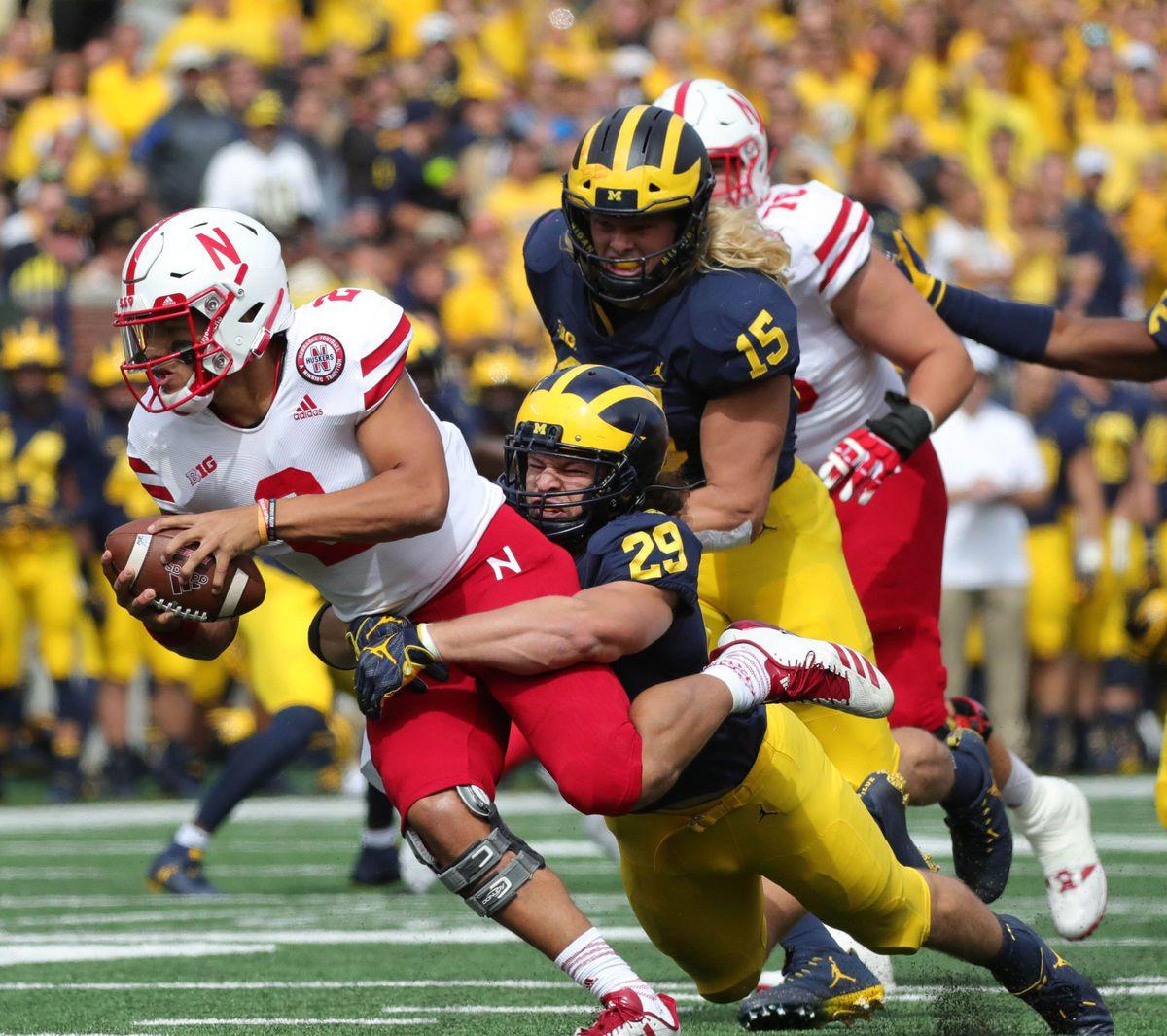 NCAA Football: Nebraska at Michigan