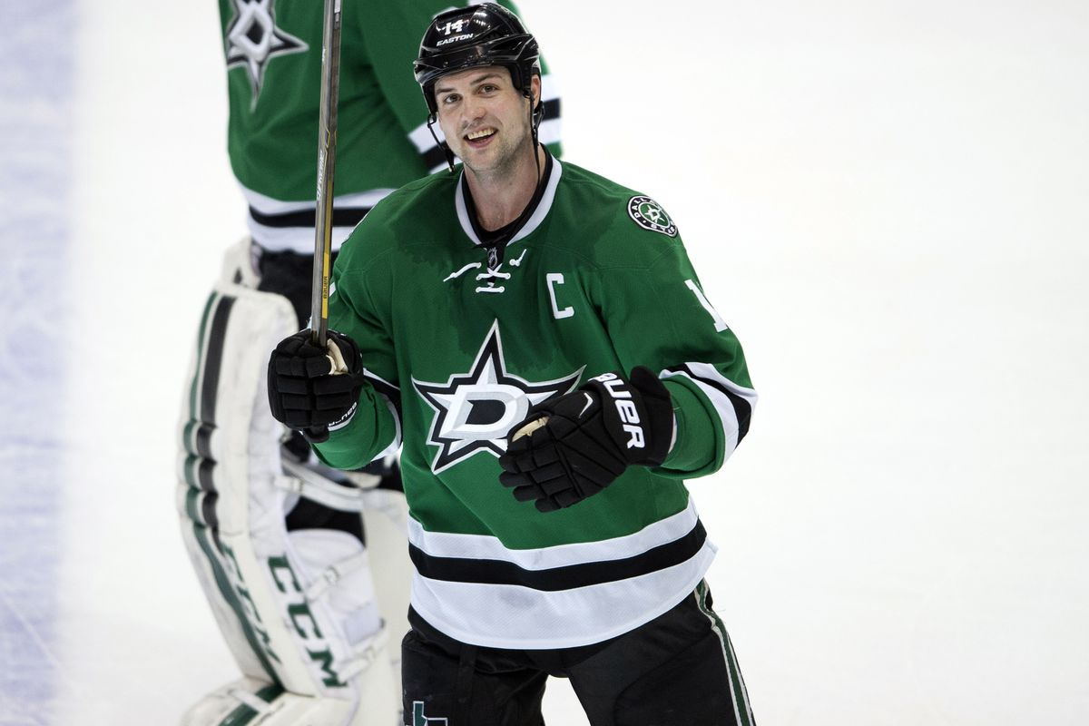 Jamie Benn: He may be tough, but did he ever take off his skate and try to stab somebody with it?