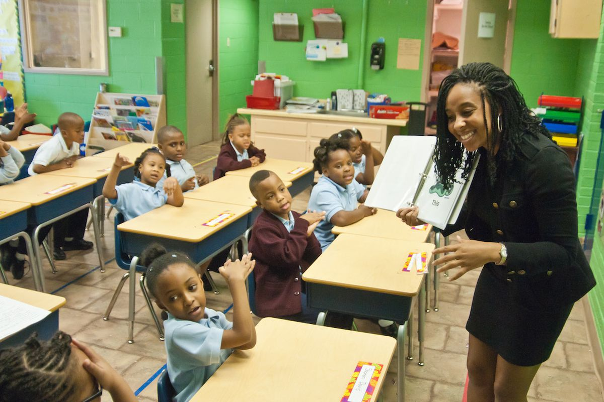 Teach For America places teachers in low-income districts across the country.