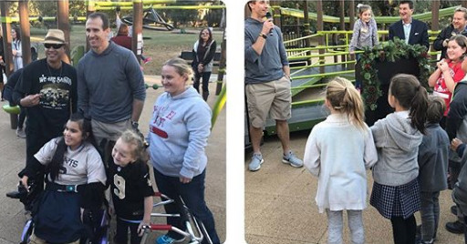 Drew Brees built an incredible inclusive playground for all kids