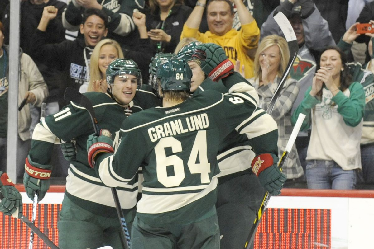 Ryan Suter, Zach Parise, and Mikael Granlund were dominant on Thursday. Can they keep it up?
