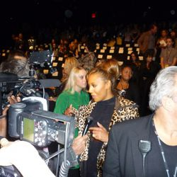 The paps go crazy for Scary Spice. Huh?
