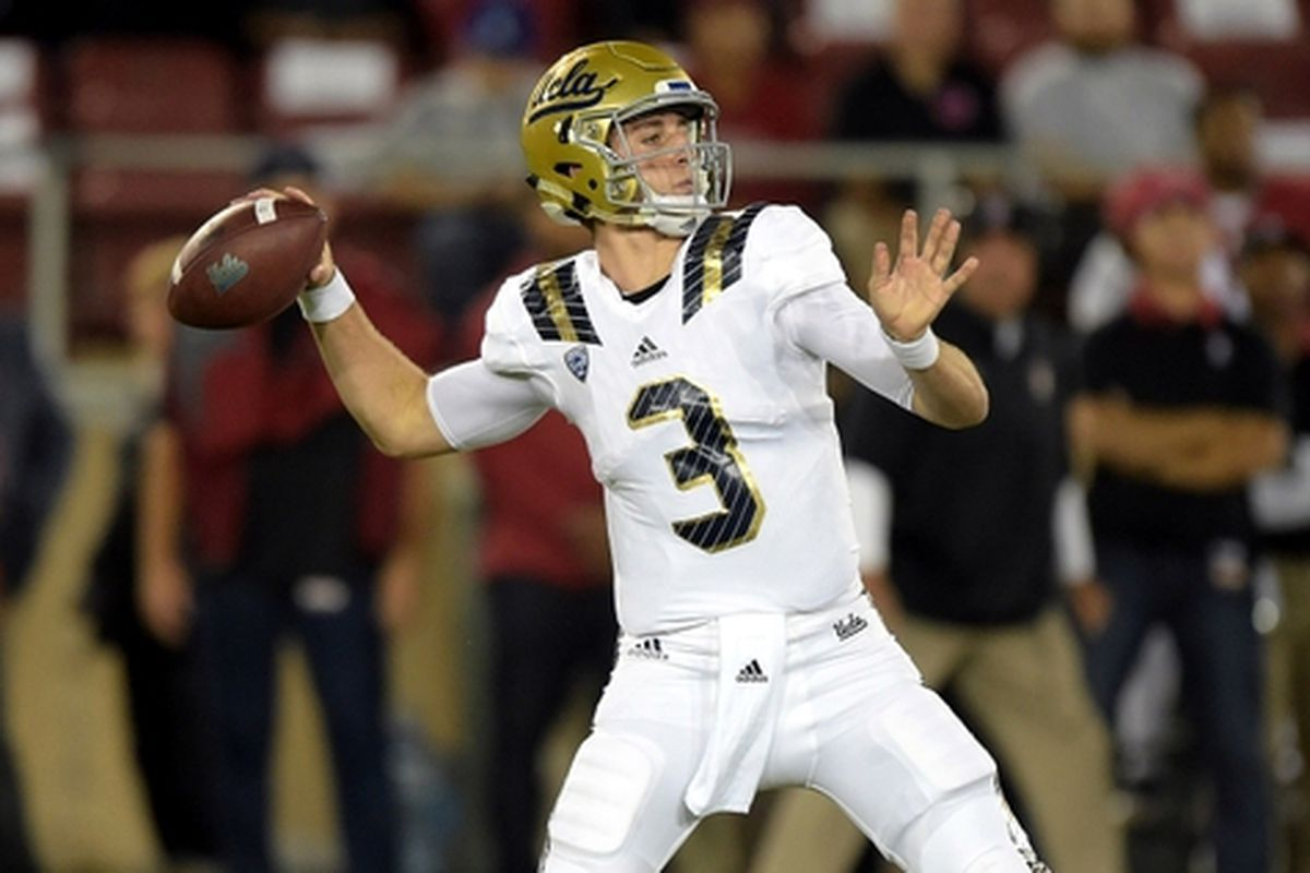 UCLA's Josh Rosen has been the most successful of the freshman quarterbacks in the Pac-12 this season.