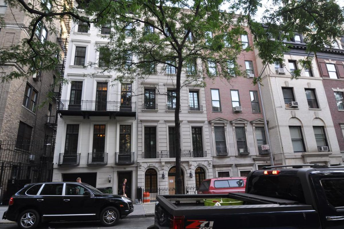 All Three Townhouses On East 81st Street Are Also Being Offered As Individual Sales