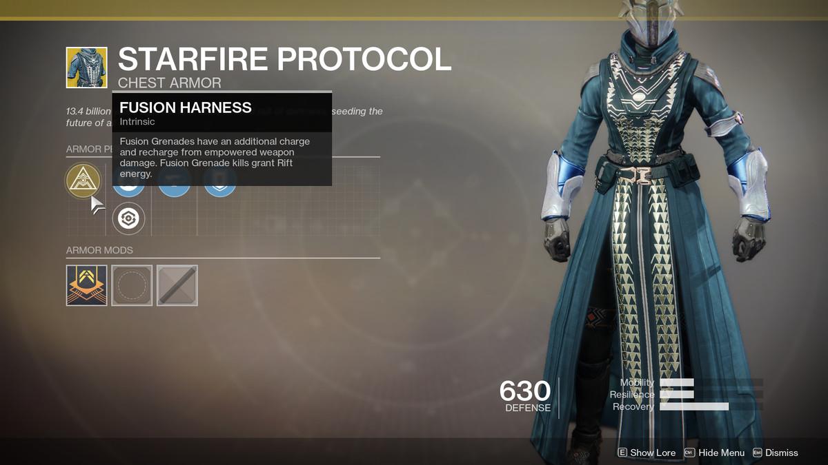 Starfire Protocol Exotic Destiny 2