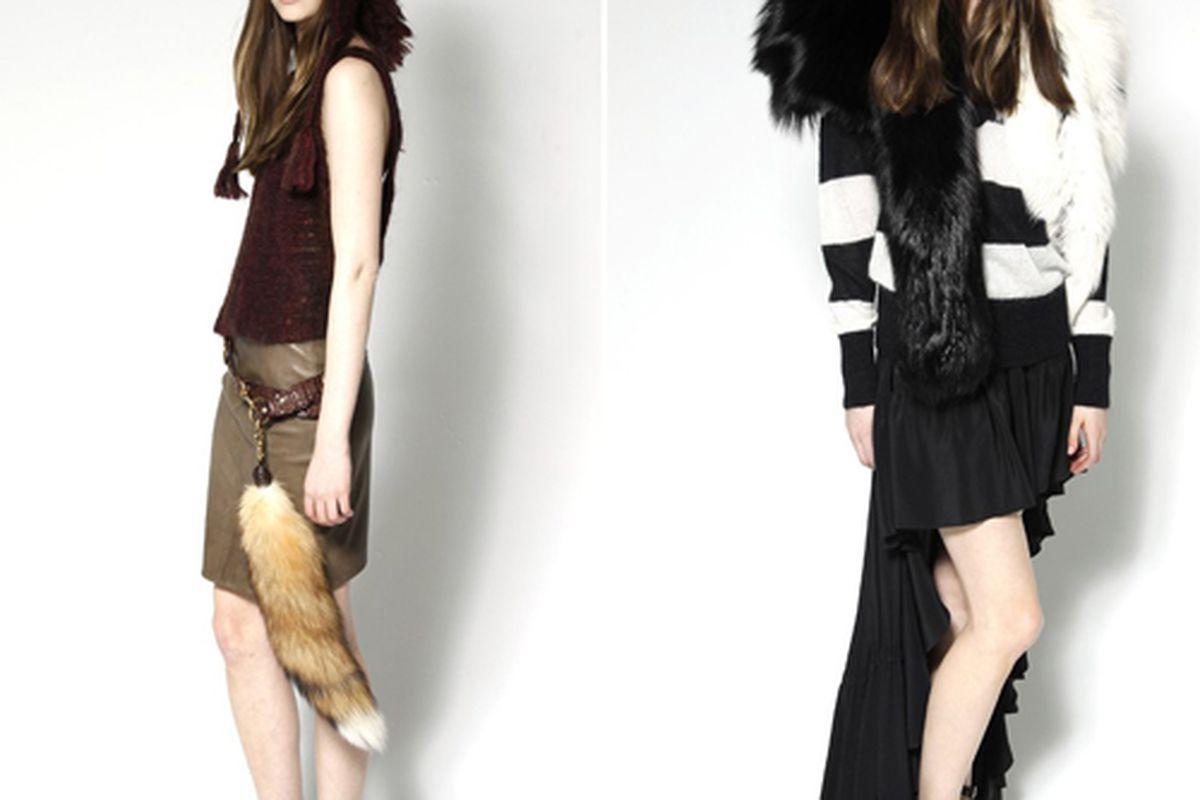 "Skaist-Taylor looks. Photo via <a href=""http://www.wwd.com/fashion-news/fashion-features/fashion-crazy-skaist-taylor-preview-5634620"">WWD</a>."