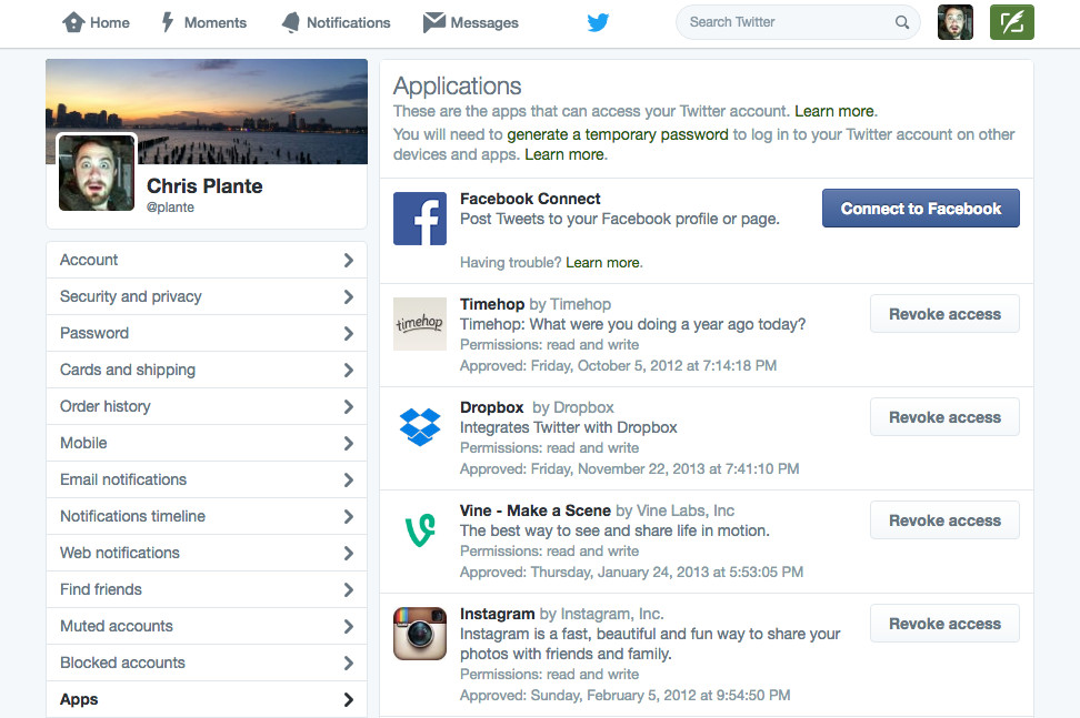Here's how to disable apps that could make your Twitter