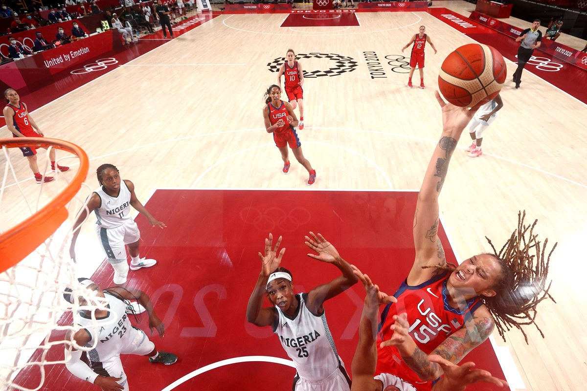 Nigeria v United States of America Women's Basketball - Olympics: Day 4