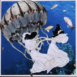 For the pal who's in a creative slump, a surrealist collage. Original Collage Art - Girls Dancing with Jellies, $25, Kelly Makes Collages