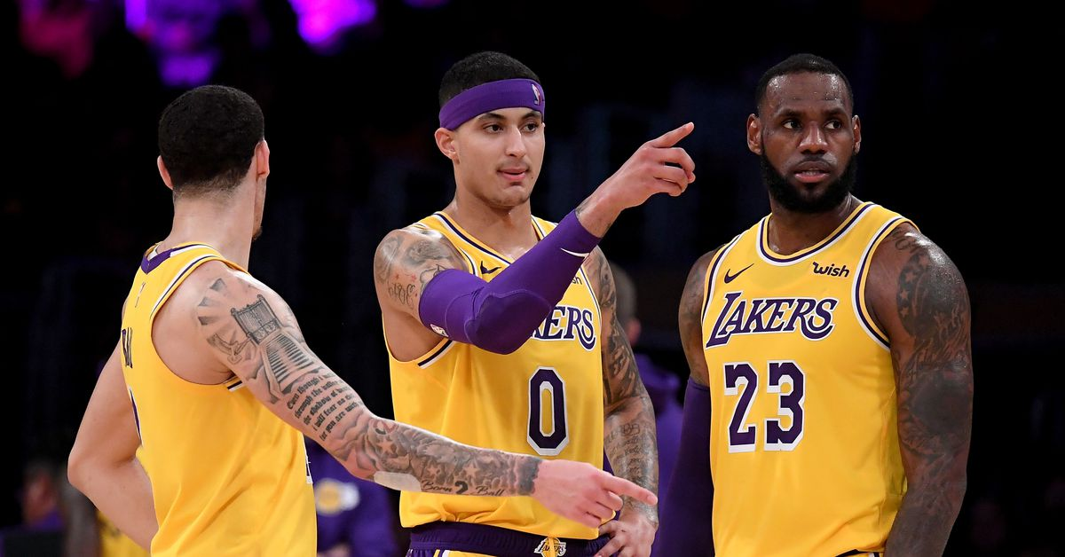 La Lakers Lonzo Ball Stats >> Kyle Kuzma, LeBron James think the Lakers really need Lonzo Ball back - Silver Screen and Roll