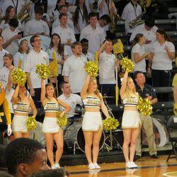 Tech Band and Cheerleaders
