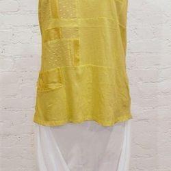 Tess Giberson yellow cotton tank (was $175, now $87.50)