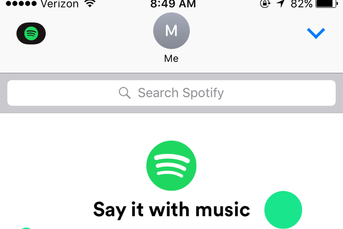 Spotify launches new iMessage app: text and preview music