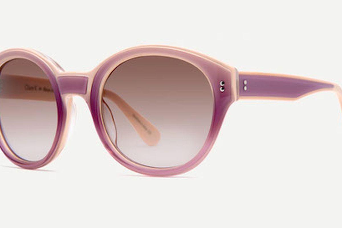 "Clare V. Nice Sunglasses in Lavande, <a href=""http://www.stevenalanoptical.com/655ws/womens-clare-v-nice-lavande-sunglasses"">$195</a> at Steven Alan stores"