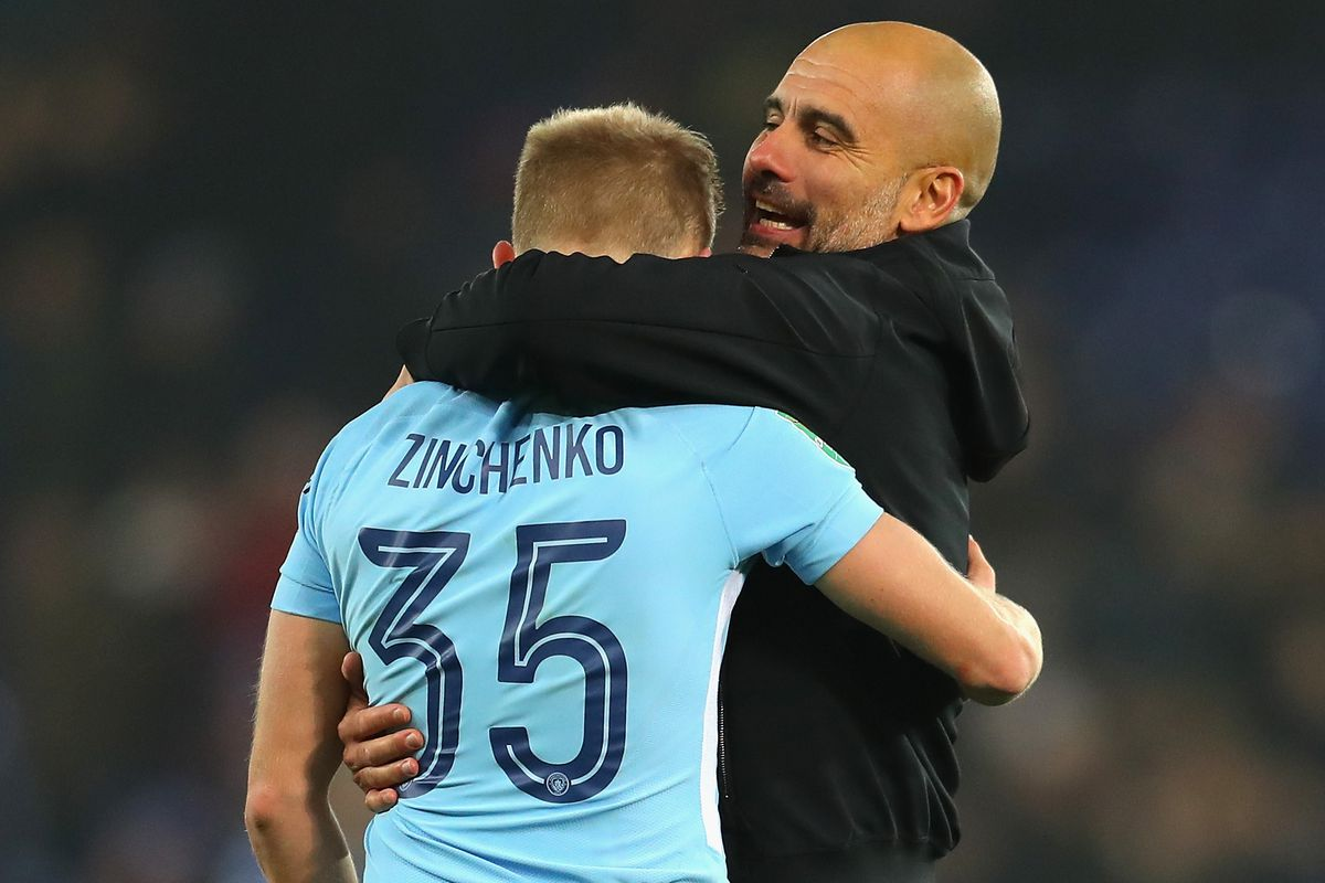 Image result for zinchenko guardiola