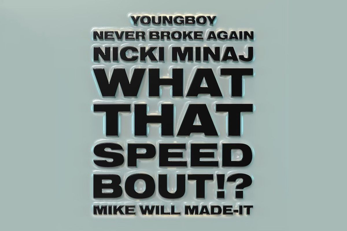 """Mike WiLL Made-It's """"What That Speed Bout?!"""" artwork"""