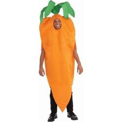 """Carrot (unisex), <a href=""""http://www.target.com/p/adult-carrot-costume-one-size-fits-most/-/A-13669372#prodSlot=_1_11"""">$31</a>"""
