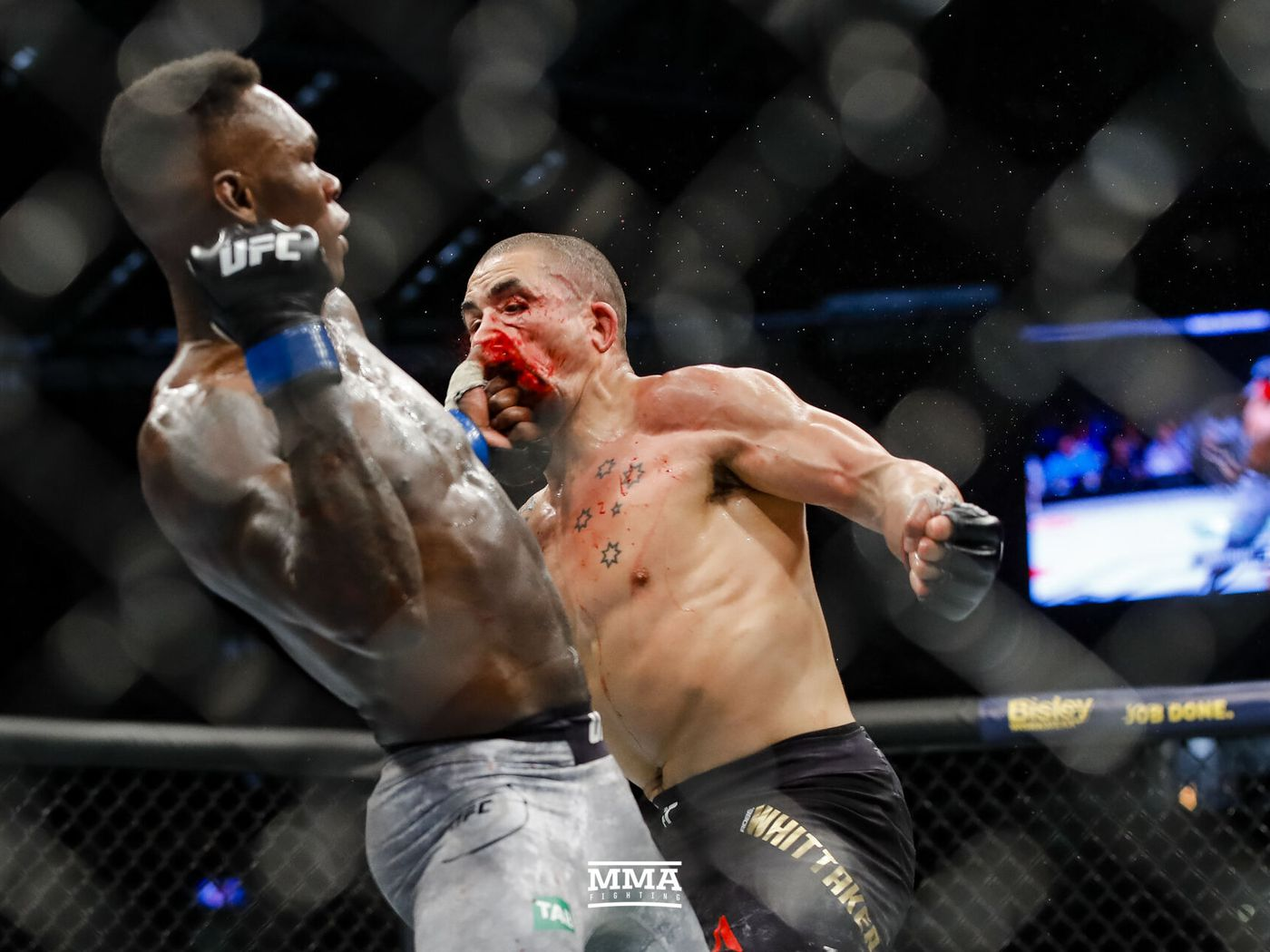 UFC 243 results: Israel Adesanya flattens Robert Whittaker to become undisputed middleweight champion - MMA Fighting