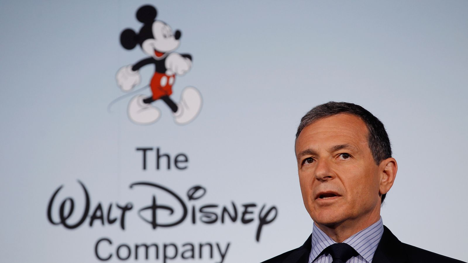 an analysis of bob igers management of the walt disney company Riding a wave of unprecedented success, the walt disney company's board of directors announced today that it has extended robert a iger's contract as chairman and chief executive officer of.