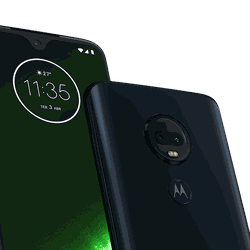 The Moto G7 Plus.