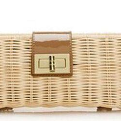 """<a href=""""http://www.jcrew.com/AST/filterAsst/HandbagShop_shape/clutch/PRDOVR~41471/41471.jsp"""">J.Crew Havana Clutch</a>, $88 jcrew.com"""