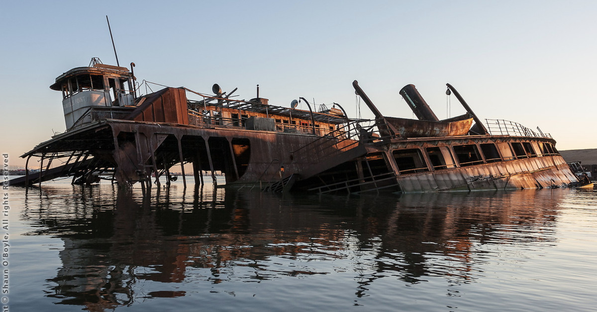 Staten Island S Abandoned Arthur Kill Boat Graveyard In