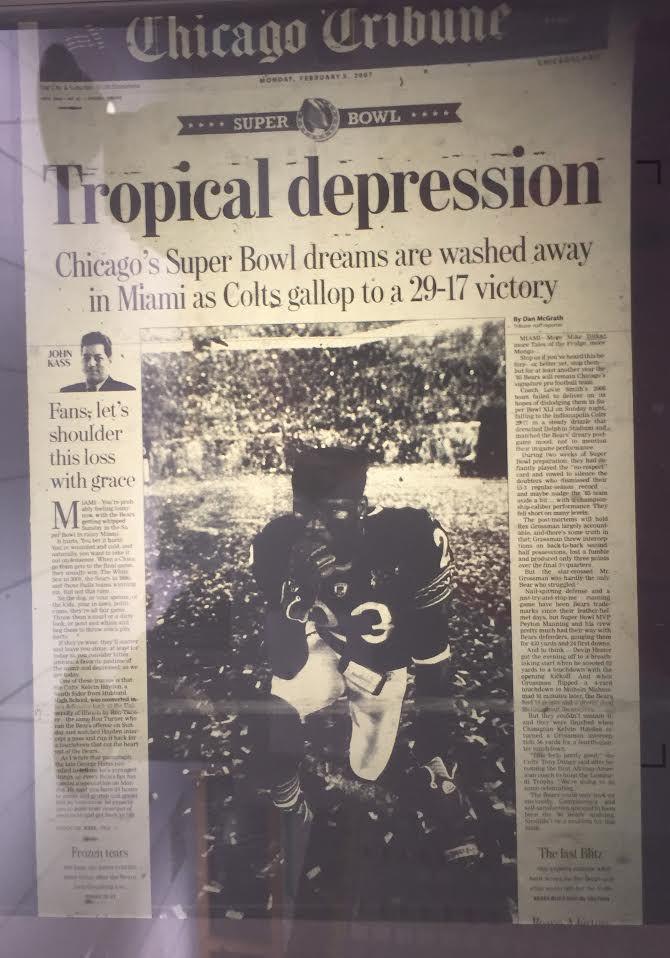 Bears lose the Super Bowl -- Tribune.