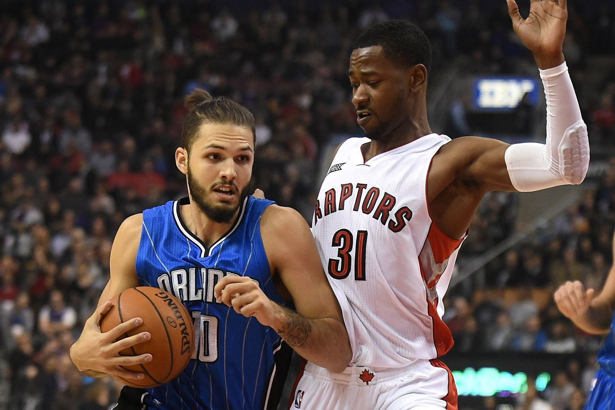 Evan Fournier and Terrence Ross