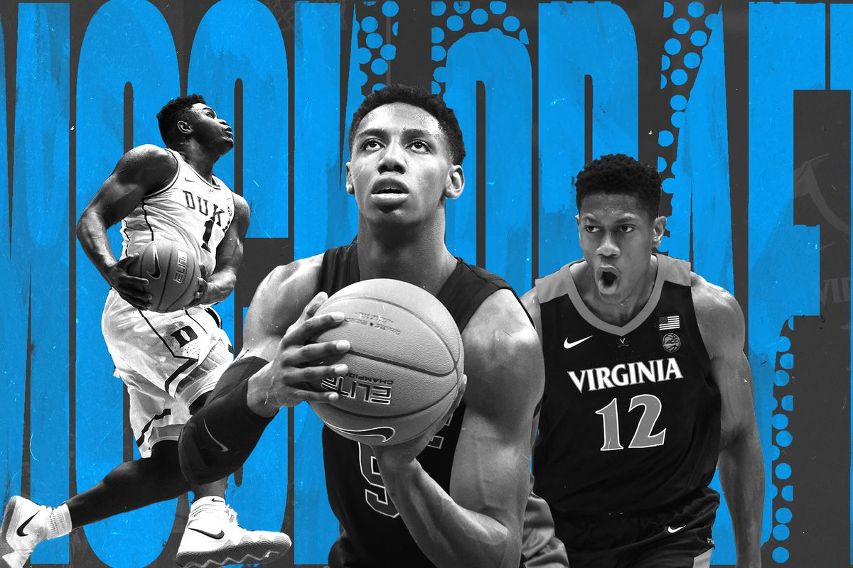 Nba Mock Draft 2019 Zion Williamson Is The Only Sure Thing