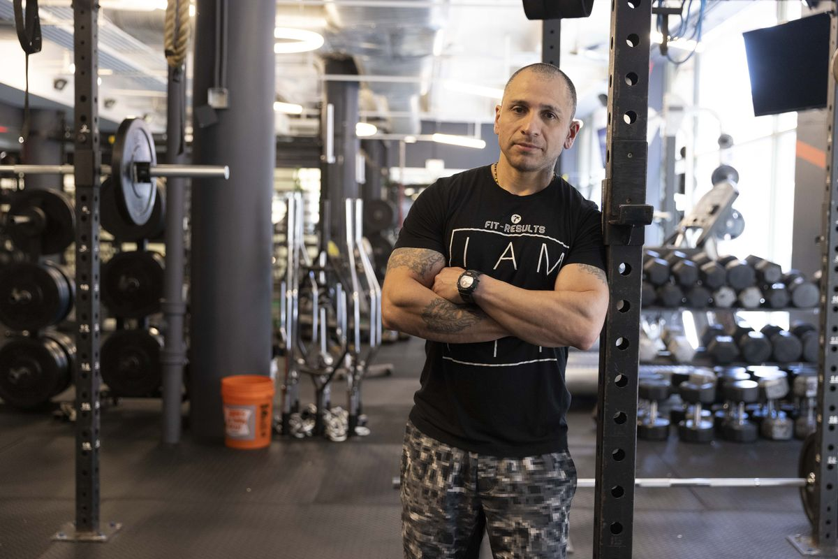Luis Centeno at his gym, Fit Results, 731 S. Plymouth Ct. in the Loop on Wednesday, June 9, 2021.
