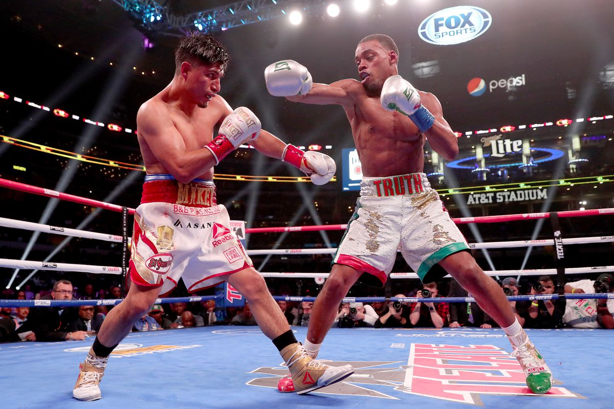Errol Spence rises to the top of CompuBox stats in power punching