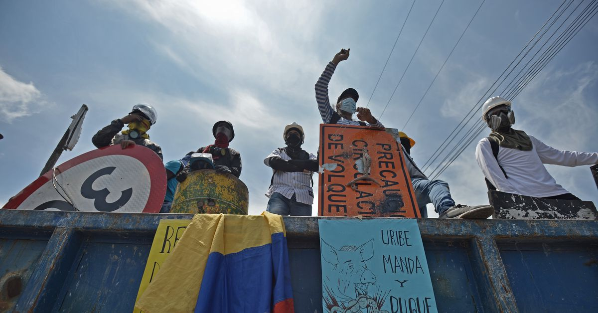 Why Colombians are protesting