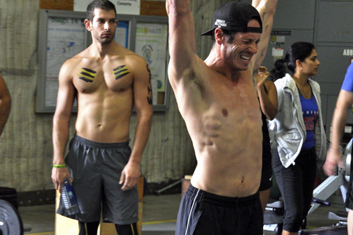 Crossfit athletes in Los Angeles.