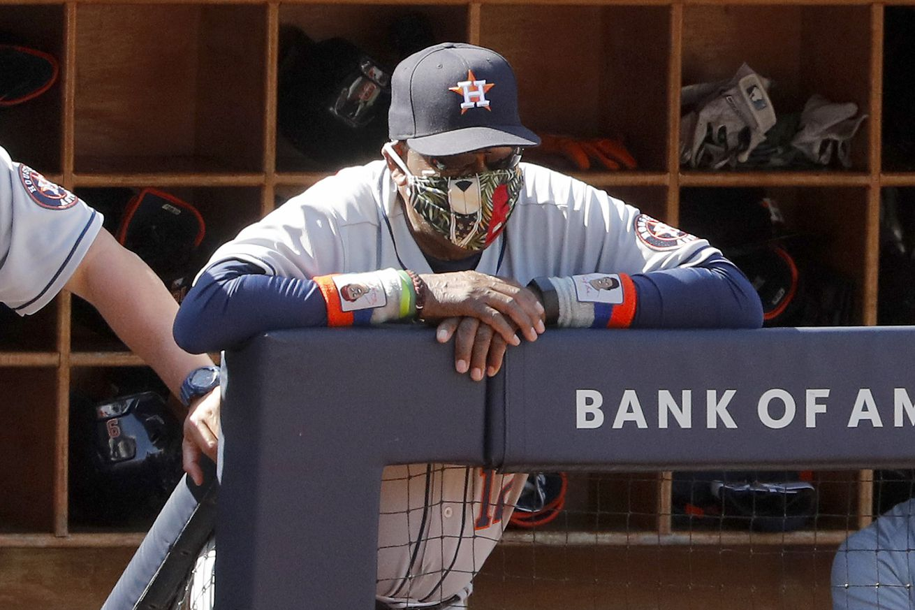 Dusty Baker is manager of the Astros.