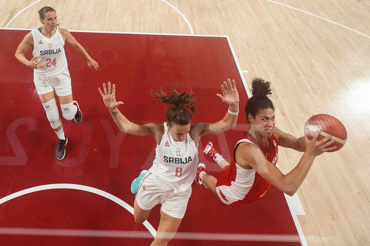 BASKETBALL-OLY-2020-2021-TOKYO-SRB-CAN