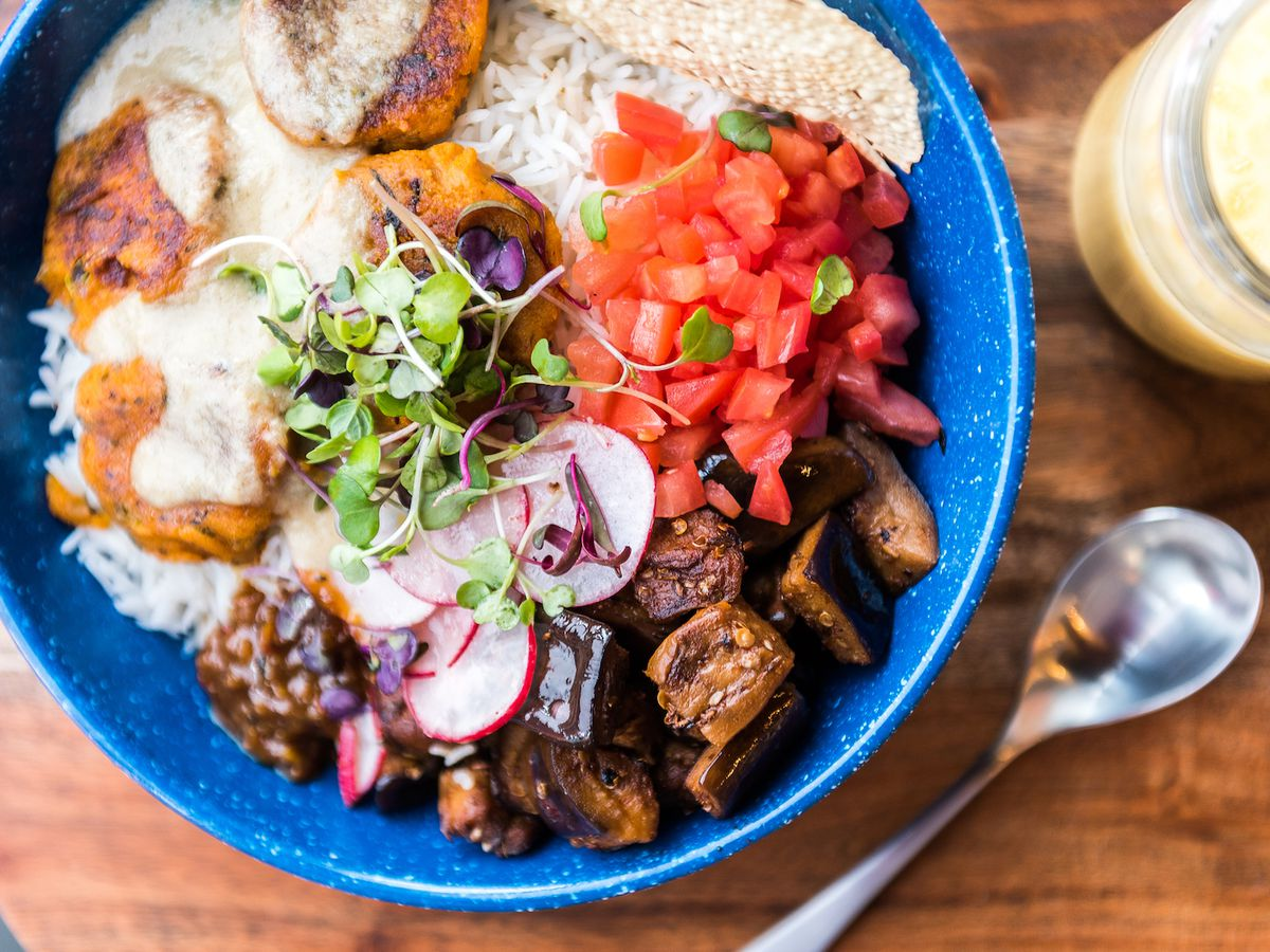 A fast-casual Indian bowl from Rasa.