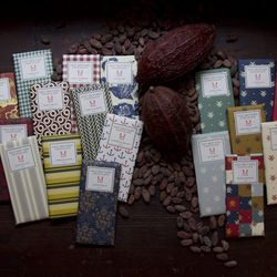 """And when all else fails, there's always <b>Mast Brothers Chocolate</b>, available in packs of 5 to 25, <a href=""""http://mastbrothers.com/shop"""">$40-$175</a>"""