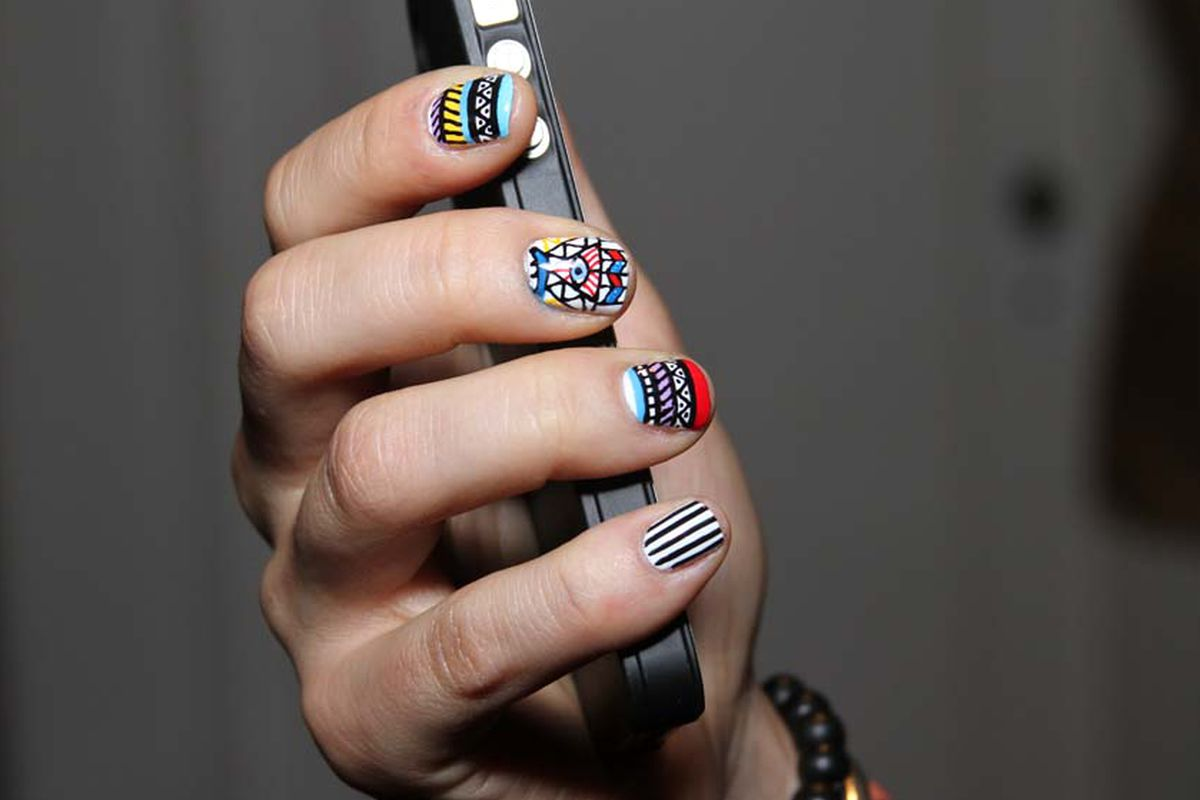 30 Rad Nail Art Ideas From Vanity Projects, Opening Soon in Miami ...