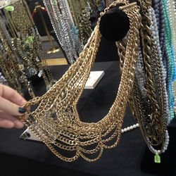 The Courtney bib necklace, $25 (from $68)