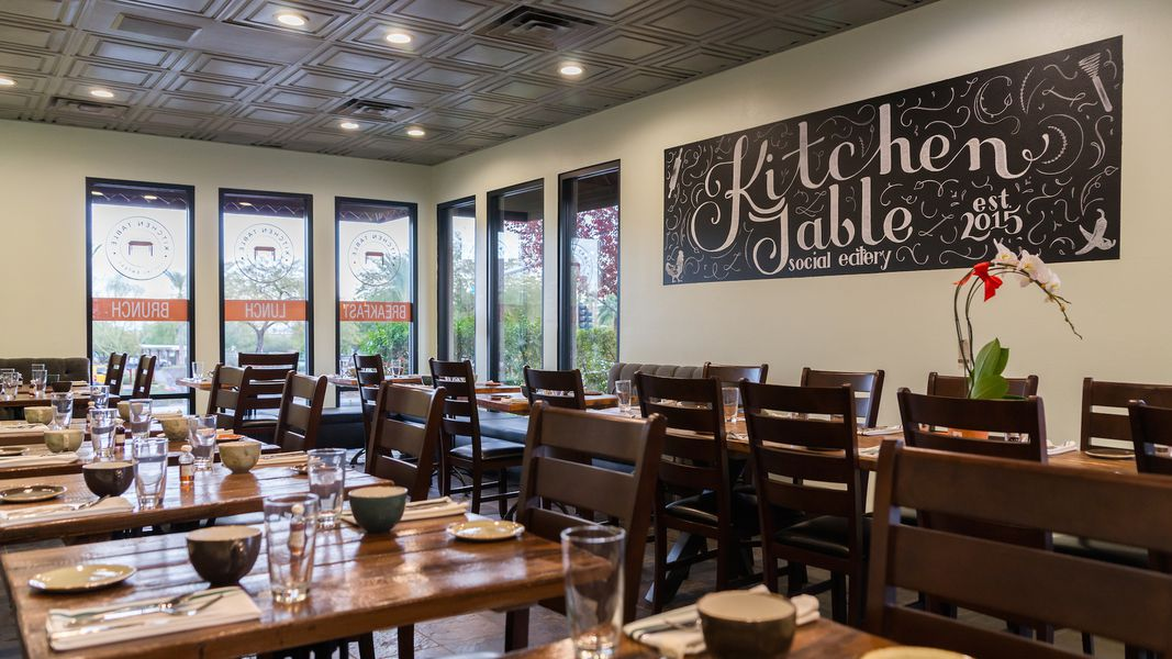 It s Adorable — The New Kitchen Table in Henderson - restaurant kitchen table