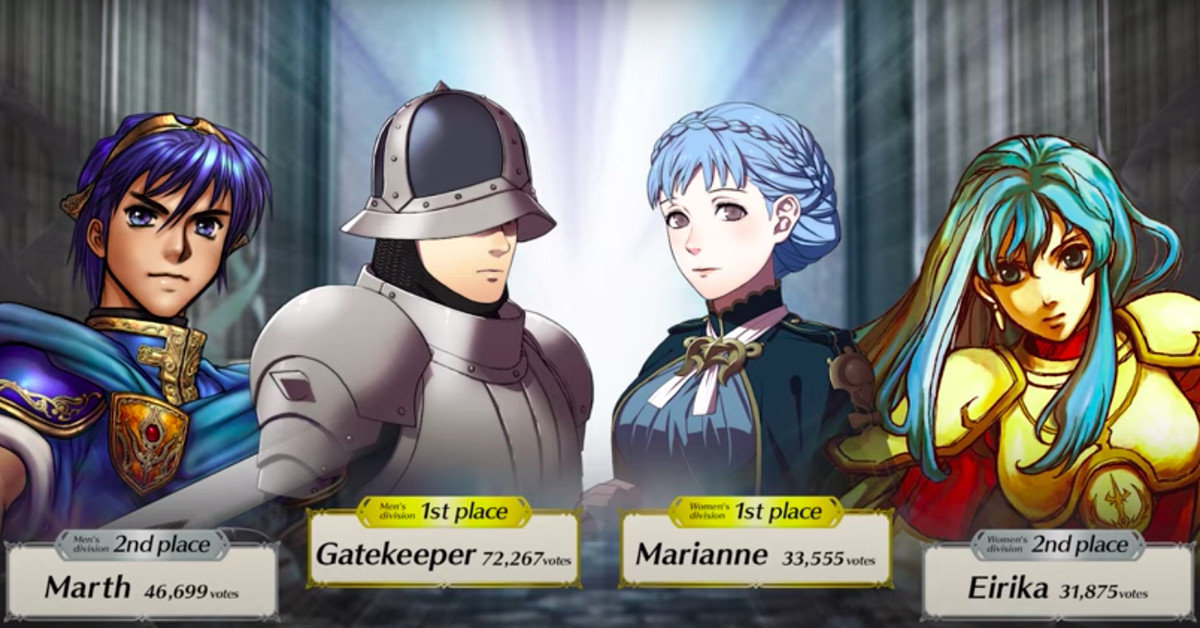 Fire Emblem: Three Houses Gatekeeper wins Choose Your Legends contest in Heroes – Polygon