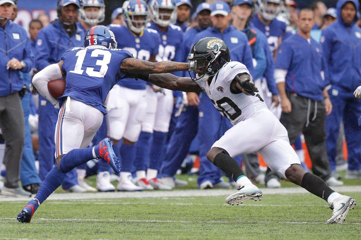 NFL: Jacksonville Jaguars at New York Giants