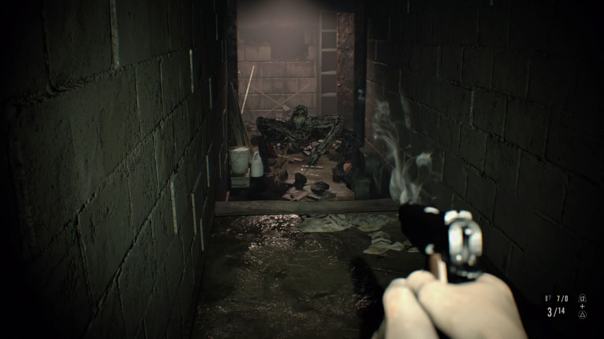Resident Evil 7 guide and walkthrough 4-1 Dissection room, master