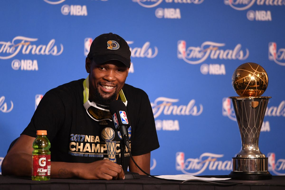 Kevin Durant Taking A Discount To Help The Warriors Is Another Form